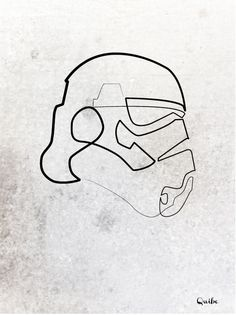 Minimalistic Portraits Of Pop Culture Icons, Drawn With Only One Line by Quibe