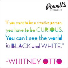 An excerpt from the Powells.com interview with Whitney Otto. #litspo