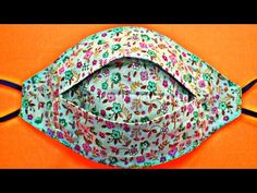(New Style) Face Mask Sewing Tutorial - Make Fabric Face Mask At Home - DIY Cloth Face Mask - YouTube