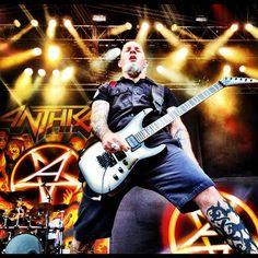 Scott Ian of #anthrax
