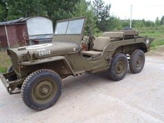 6x6 jeep willys--- I SO want to make one of these!