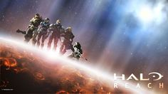 "Noble 6 from the upcoming game ""Halo: Reach"" EDIT: everyday i see a new fav for this, and that makes me happier every time, 'cause its the first pic i have thats in the first search page! GO ME!!!!..."
