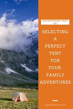 Buying a tent for backpacking is a lot more complicated than buying a tent for car camping. Besides weight, you may like to consider styles, designs, sizes, features, and cost. Backpacking Tent, Camping Glamping, Cruise Travel, Travel Usa, Family Adventure, Adventure Travel, Travel Couple, Family Travel, Best Travel Guides