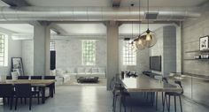 Galleria foto - Come arredare un Loft in stile Industriale Foto 19