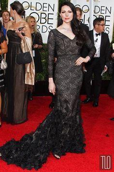 Golden Globe Awards 2015, Laura Prepon in Christian Siriano