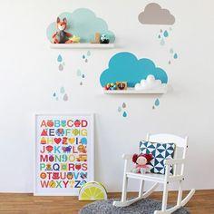 Wenn heute schon so ein Schietwetter mit lauter grauen Wolken ist, setzen wir fröhliche Wolkenfarben dagegen. Nur heute gibt es deshalb auf alle Wolken Stickersets einen Rabatt!!! Gebt dazu einfach im Warenkorb den Code WOLKEN ☁️☁️ ein und ihr bekommt alle Wolkenprodukte 10% günstiger. #wolkenliebe #wolken #kinderzimmer #instakids #rabattcode #kidsroom #kidsdecor #ikeadiy #ikeakids #ikeahack #wolkenregale #cloudyday