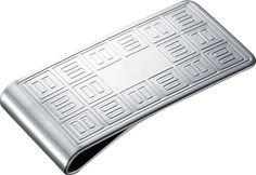 Money Clips - Visol Capella Stainless Steel Money Clip - Oxemegifts.com