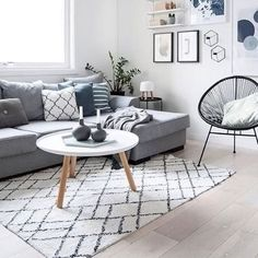 If you need to transform your living room for the better, try Scandinavian interior design. Here are some of the beautiful Scandinavian living room inspiration. Interior Modern, Scandinavian Interior Design, Scandinavian Lighting, Interior Design Living Room, Living Room Designs, Living Room Themes, Living Room Decor Kmart, Living Room Prints, Interior Livingroom