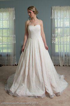 Jl80 Petal Wedding Dress