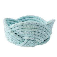 Weave bowls in duck egg blue