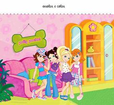 "Mini Kit de Aniversário ""Polly Pocket"" - Convites Digitais Simples"