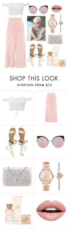 """""""<3"""" by linus-isotalus on Polyvore featuring Hollister Co., Fendi, Chanel, Michael Kors, Tory Burch and Nevermind"""