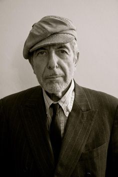 """I am an old scholar, better-looking now than when I was young. That's what sitting on your ass does to your face."" ~ Leonard Cohen"
