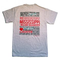 Hi Y'all Mississippi Tee Shirt