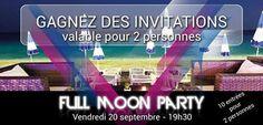 L'invitation pour la Full Moon Party