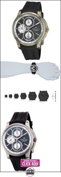 R MLACROIX TITANIUM BLACK GOLD AND SILVE  ✿ Relojes para hombre - (Lujo) ✿ ▬► Ver oferta: https://comprar.io/goto/B005UIEXKA