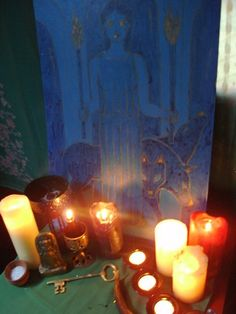 Shrine to the Goddess Hekate by soritadeste, via Flickr #wicca