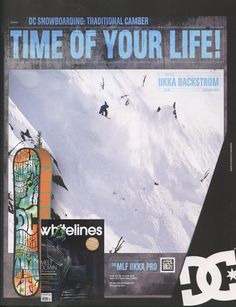 Whitelines - UK Magazine - Iikka Backstrom_DC Ad - Snowboard Team - March12