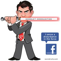 Facebook, Google Plus, #SocialMediaGeek