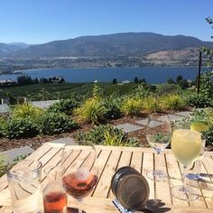 Spectacular 4 day weekend in Penticton, BC - This is Poplar Grove Winery, Naramata BC What a view! Vancouver Wedding Venue, Wedding Venues, 4 Day Weekend, Prize Homes, O Canada, Wineries, Small Towns, Places Ive Been, Bucket