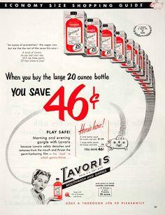 1952 Ad Lavoris
