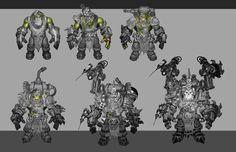 Orc mad-dok sketches, Rayph Beisner on ArtStation at https://www.artstation.com/artwork/orc-mad-dok-sketches