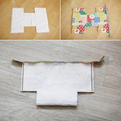 Cosmetic Bag colorful. DIY step-by-step tutorial. Яркая сумка-косметичка.