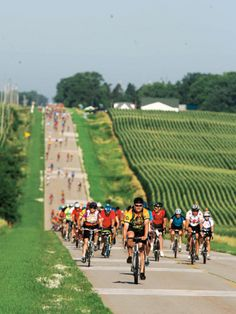 See trip details for biking RAGBRAI in Iowa, one of 100 best American adventure trips from National Geographic.