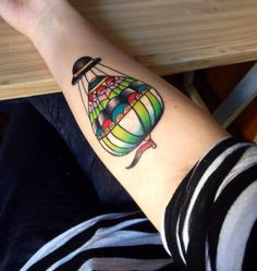 #Tattoo#colorful#hotairballoon