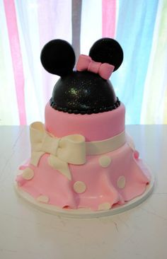 Part of an idea for the Minnie Mouse Cake