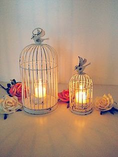 Bird Cage Tea Light Holder from Not On The High Street. Saved to Illuminants. Shop more products from Not On The High Street on Wanelo.