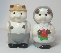 Mr. & Mrs. Pig Salt and Pepper Shakers