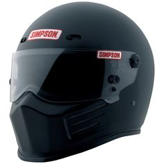 Simpson Outlaw Bandit Matte Black