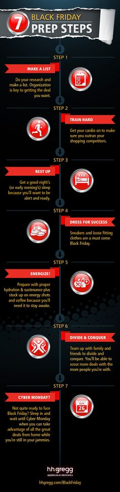 Preparate para el Black Friday #infografia #infographic #marketing