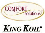 "King Koil Comfort Solutions Mattresses - I LOVE my King Koil ""Big White Teddy Bear"" Delainey Eurotop!!"