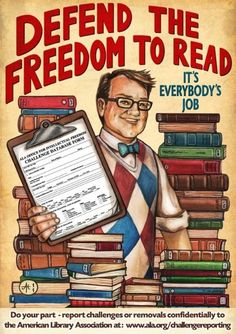 I would defend everyones freedom to read. A precious freedom indeed - reading = knowledge & knowledge = power.