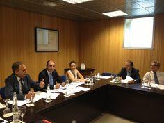 Reunión del Comité Organizador del Foro #SerEmprendedor celebrada en @Fycma el 26 Junio de 2013 para ultimar los detalles del evento que tendrá lugar en #Malaga los días 27 y 28 de Noviembre #emprendedores