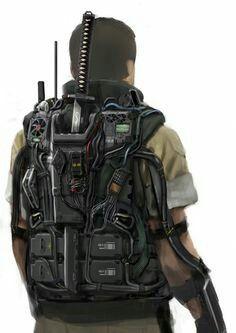 Backpack pour tenue de stalker