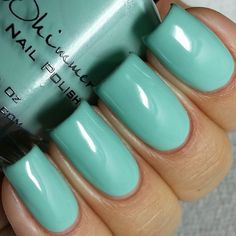 A Touch Of Glass Cream Nail Polish  0.5 Oz Full Sized by KBShimmer
