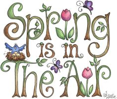 Laurie Furnell - Spring in the air - text (1024x869 px) printable