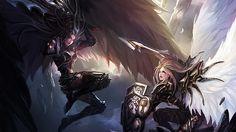 Armored Morgana vs Kayle