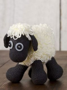 Free Crochet Sheep toy pattern