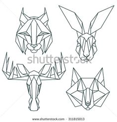 Find Animal Icons Vector Icon Set Abstract stock images in HD and millions of other royalty-free stock photos, illustrations and vectors in the Shutterstock collection. Geometric Drawing, Geometric Art, Geometric Animal, Icon Set, Abstract Animal Art, Doodle Drawing, Polygon Art, Cardboard Sculpture, Figure Sketching