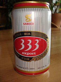 333 Beer Vietnam #Vietnamese #foreign