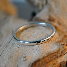 skinny ring  sterling silver and vertical by jhollywooddesigns, $33.00