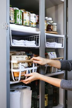 A Pantry Organization Makeover with method - Anne Sage