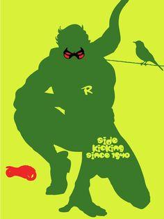 Robin - side kicking since 1940