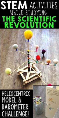 The Scientific Revolution STEM Challenges - Gesa Solar System Activities, Solar System Projects, Science Activities, Science Projects, Science Experiments, History Activities, Steam Activities, Science Resources, Scientific Revolution
