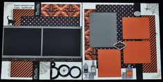 This is a limited edition Halloween layout using Spellbound.  I have this two page kit for $15 which includes rub ons.  Email @ ilov2cr84u@gmail.com if interested.