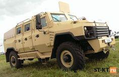 """Новейший российский броневик BURAN станет конкурентом """"Тигра"""" (фото)   Defence.Ru"""
